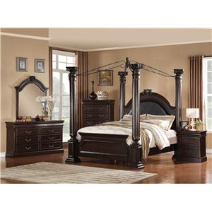 Acme Furniture Roman Empire King Bedroom Group