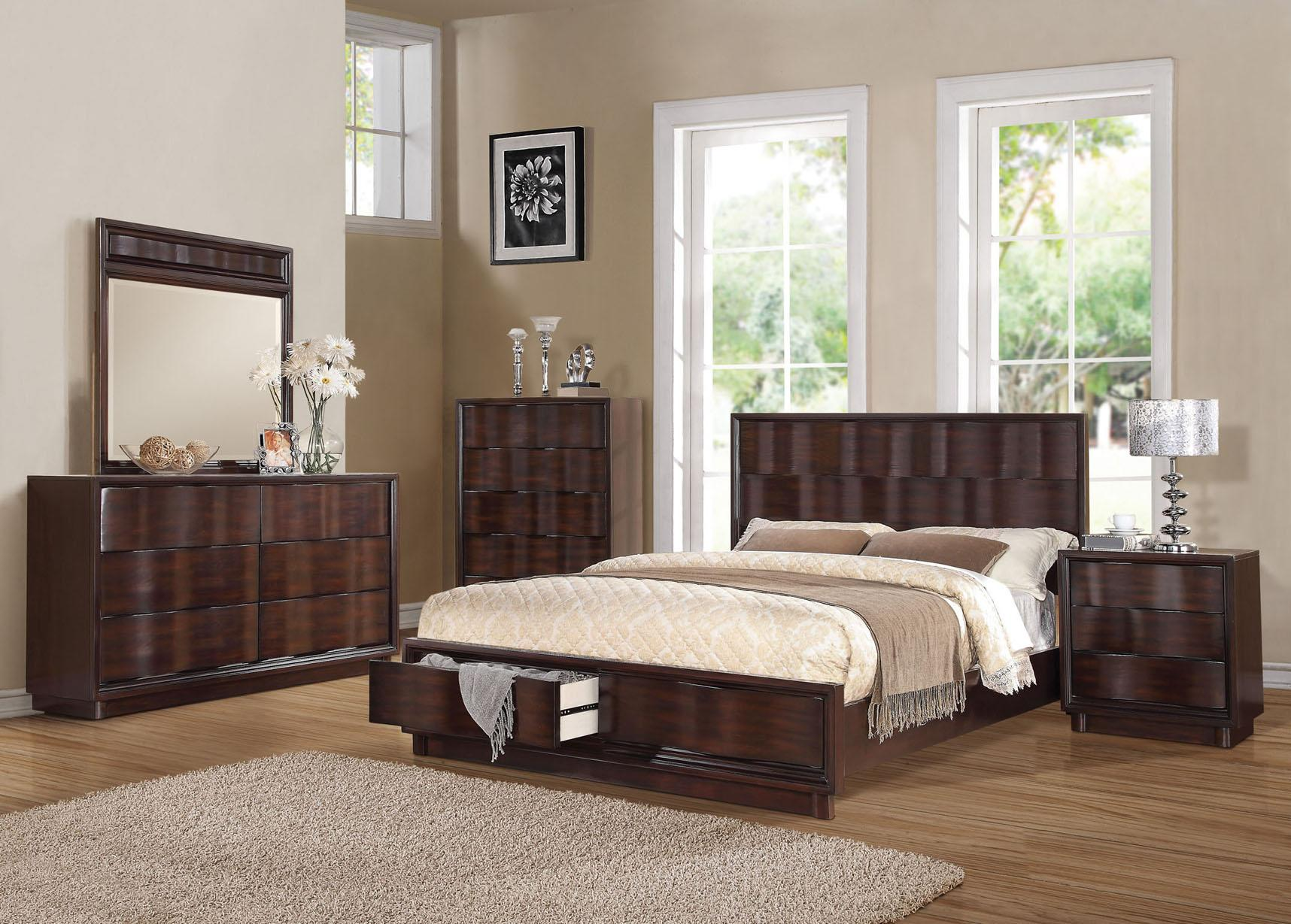 Acme Furniture Travell King Bedroom Group - Item Number: 2052 K Bedroom Group