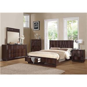 Acme Furniture Travell King Bedroom Group