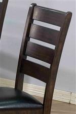 Acme Furniture Urbana Counter Height Ladder Back Chair