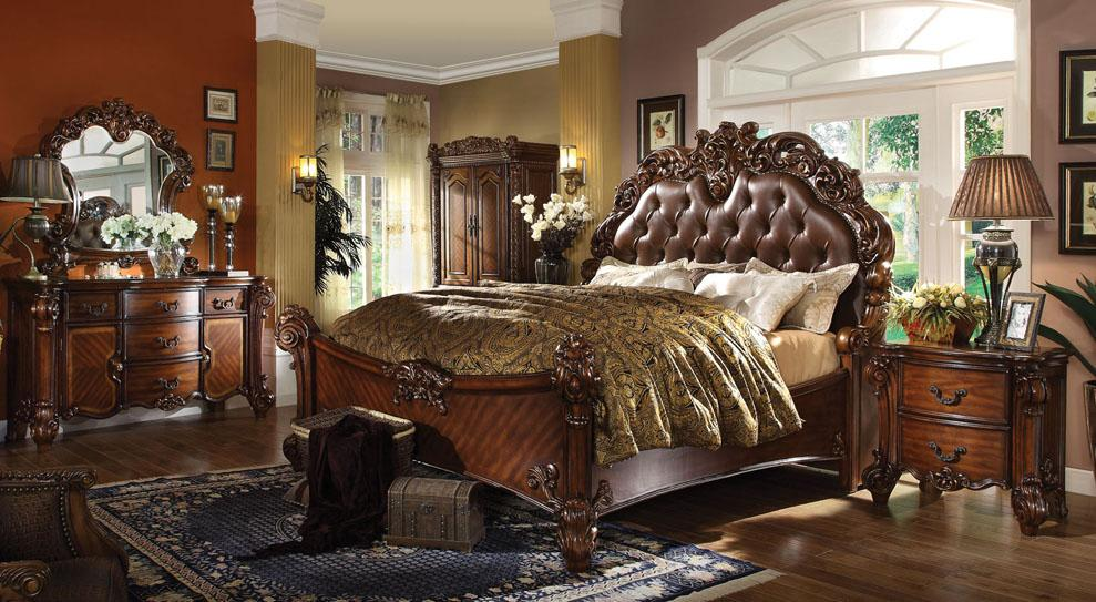 Acme Furniture Vendome King Bedroom Group - Item Number: 220 K Bedroom Group 1
