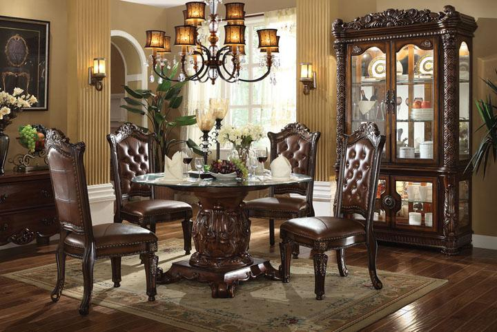 Acme Furniture Vendome Dining Room Group - Item Number: 620 Dining Room Group 3
