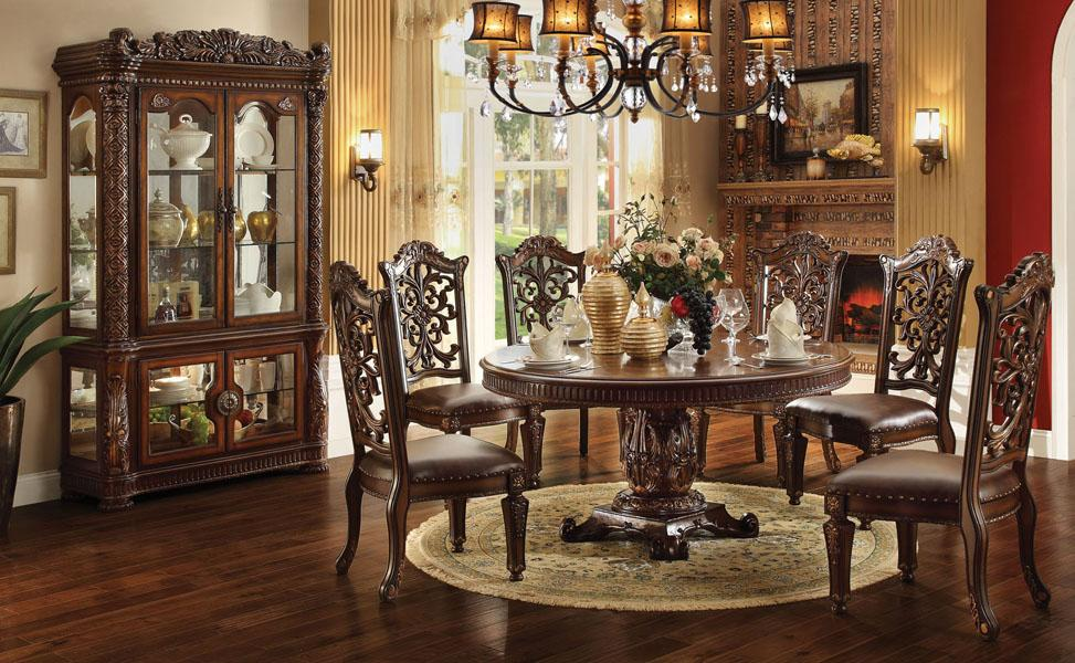 Acme Furniture Vendome Dining Room Group - Item Number: 620 Dining Room Group 4