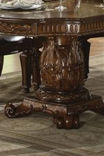 Ornate Pedestal Table Bases