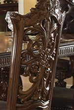 Elaborate Chair Back Carvings