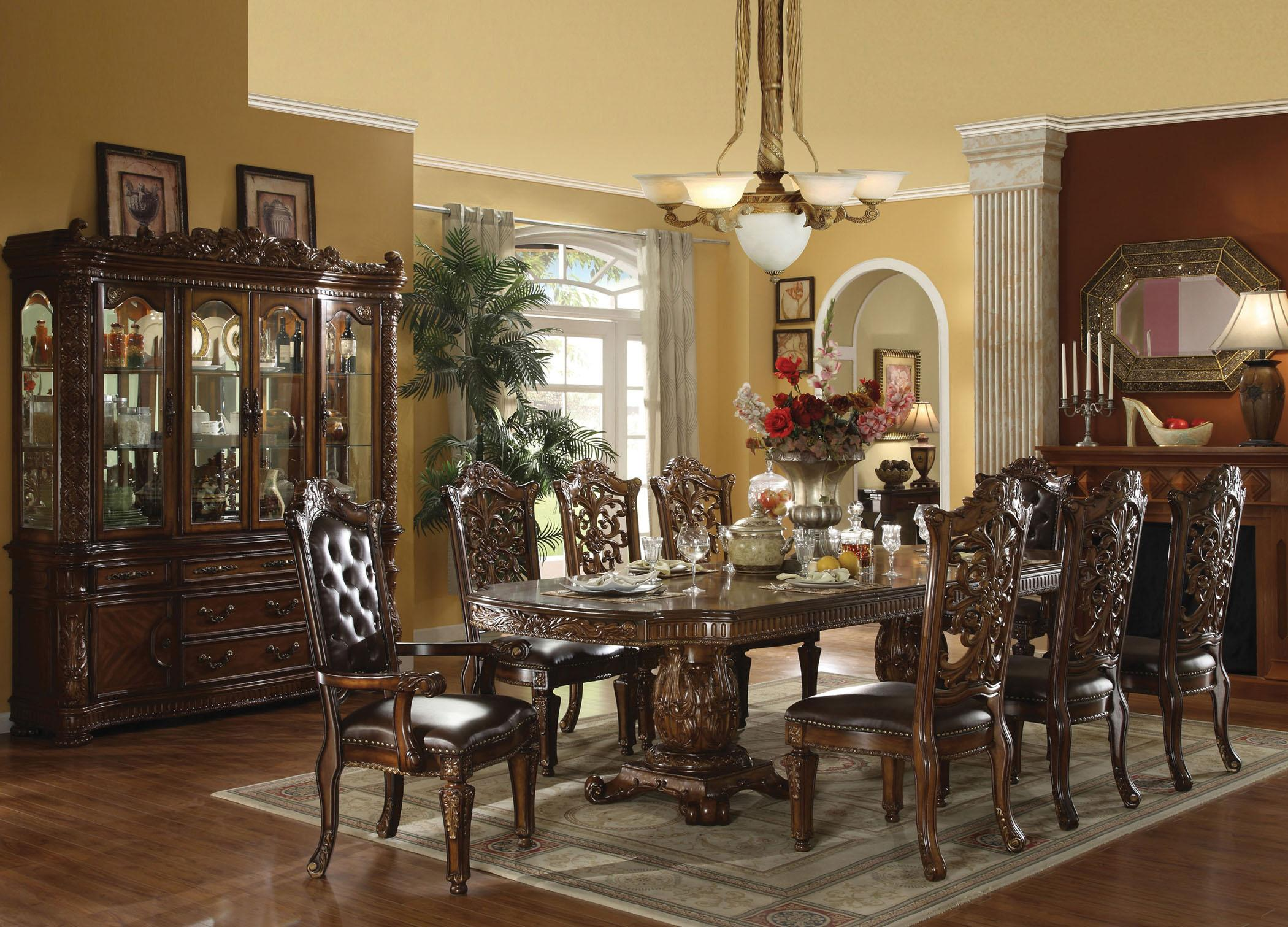 Acme Furniture Vendome Formal Dining Room Group - Item Number: 6000 Formal Dining Room Group