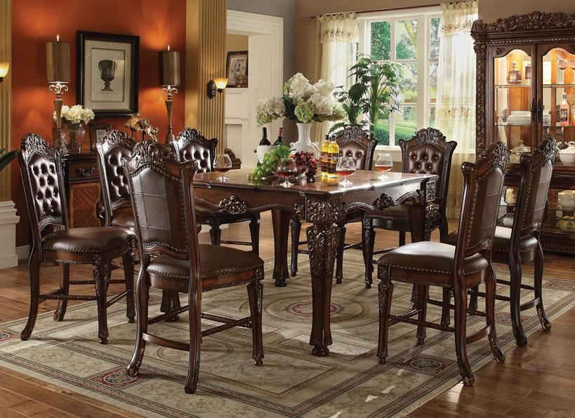 Acme Furniture Vendome Formal Dining Room Group - Item Number: 620 Dining Room Group 5