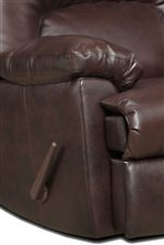 Plush, Pillow Topped Arm Rests Provide Padded Comfort for Exceptional Relaxation