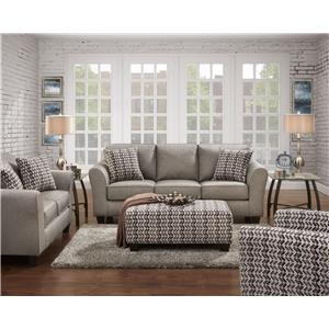 Affordable Furniture 5000 Stationary Living Room Group