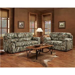 Affordable Furniture 5500 Stationary Living Room Group