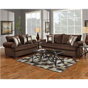Affordable Furniture 6400 Stationary Sofa