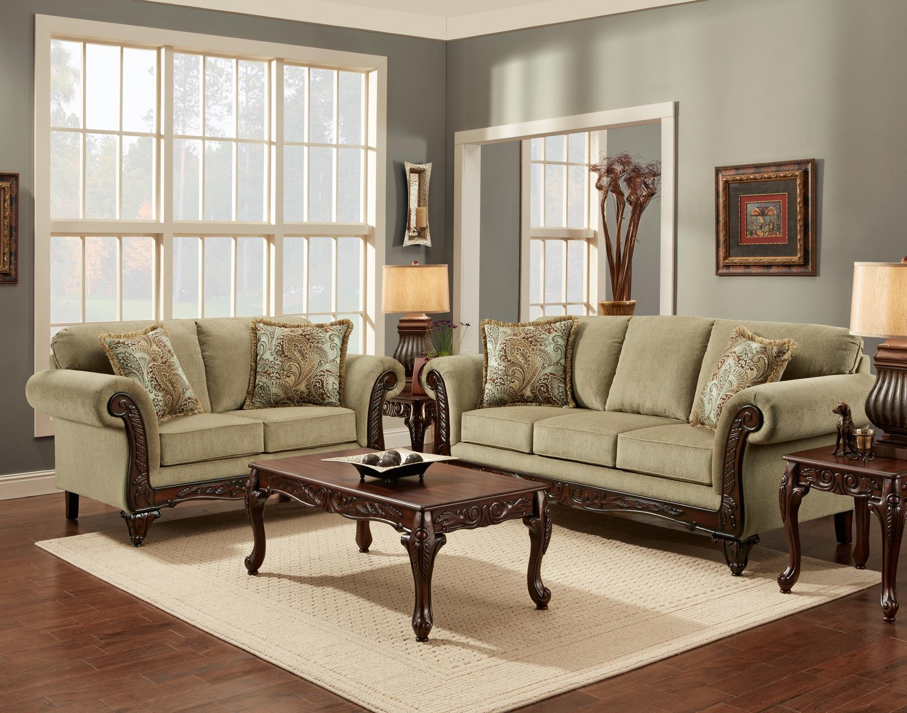 8500 Stationary Living Room Group by Affordable Furniture at Wilcox Furniture