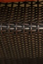 Modern Hand Woven Wicker Frames in Java Brown Finish