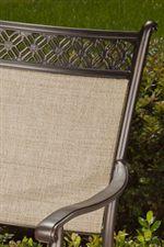 Aluminum Cast Header Chair Back
