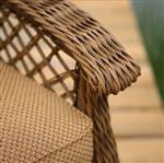 Woven Armchair Detail