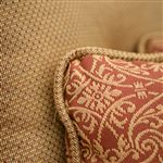 Cushion and Welted Pillow Detail