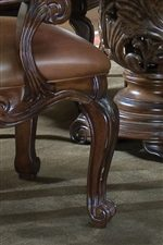 Classic Cabriole Legs on Dining Chairs