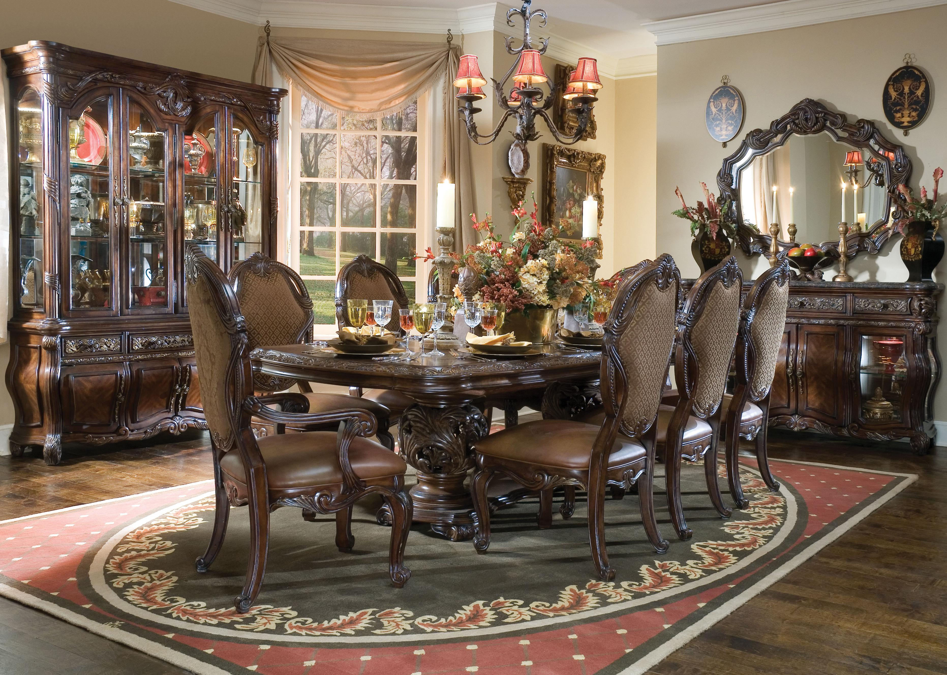 Michael Amini Formal Dining Room Group