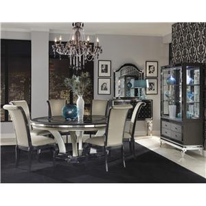 Michael Amini Hollywood Swank Casual Dining Room Group
