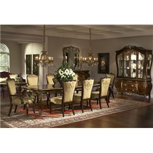 Michael Amini Imperial Court Formal Dining Room Group