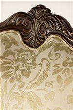 Exquisite Palmette Wood Center Carving
