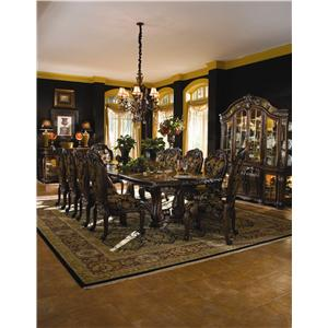 Michael Amini Oppulente Formal Dining Room Group