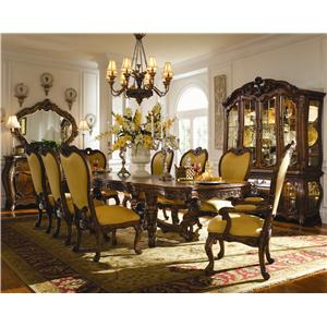 Michael Amini Palais Royale Formal Dining Room Group