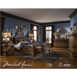 Michael Amini The Sovereign Queen Bedroom Group