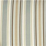Blue/Brown Stripe Upholstery has a Casual Elegance with a Quaint Cottage Charm