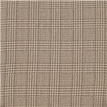 Taupe/Off White Plaid Creates a Quaint Country Accent, Reminiscing of Fireside Dens and Cottage Lake Homes