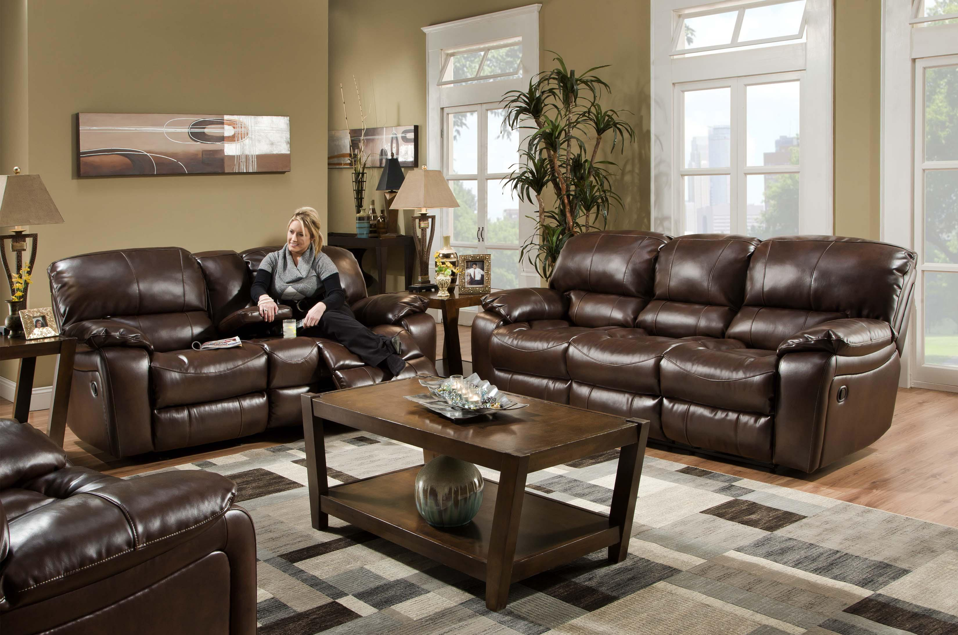 Albany 1750 Reclining Living Room Group - Item Number: 1750 Living Room Group 1