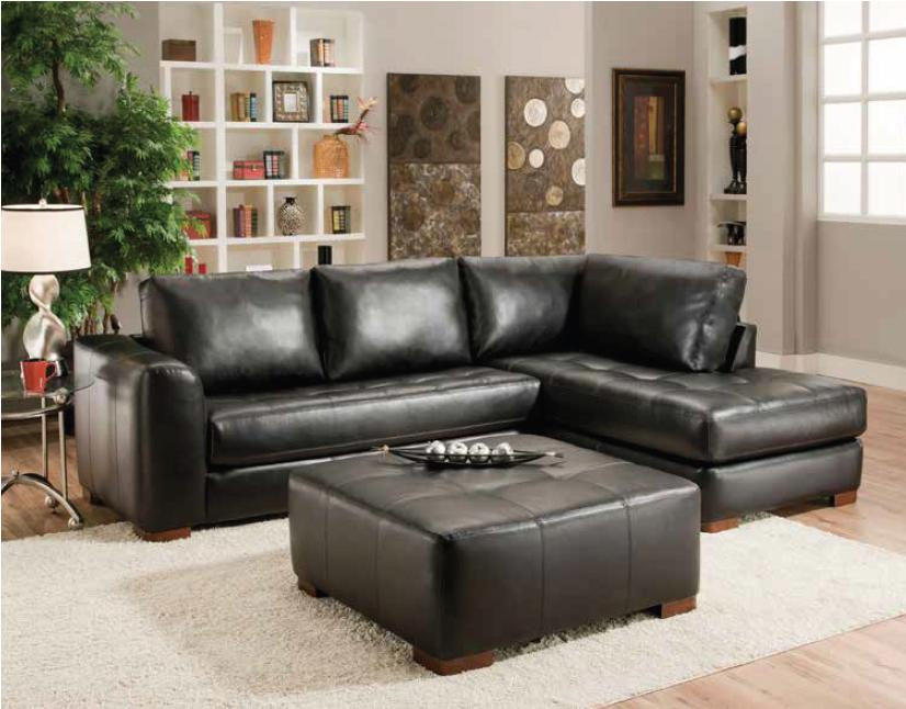 Albany 275 Contemporary Sectional Sofa With Chaise - A1 Furniture