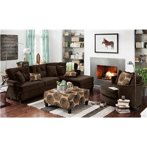 Albany 8632 Stationary Living Room Group