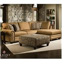 Albany 8648 Collection Casual Stationary Living Room Group - Item Number: 8648 Living Room Group 1