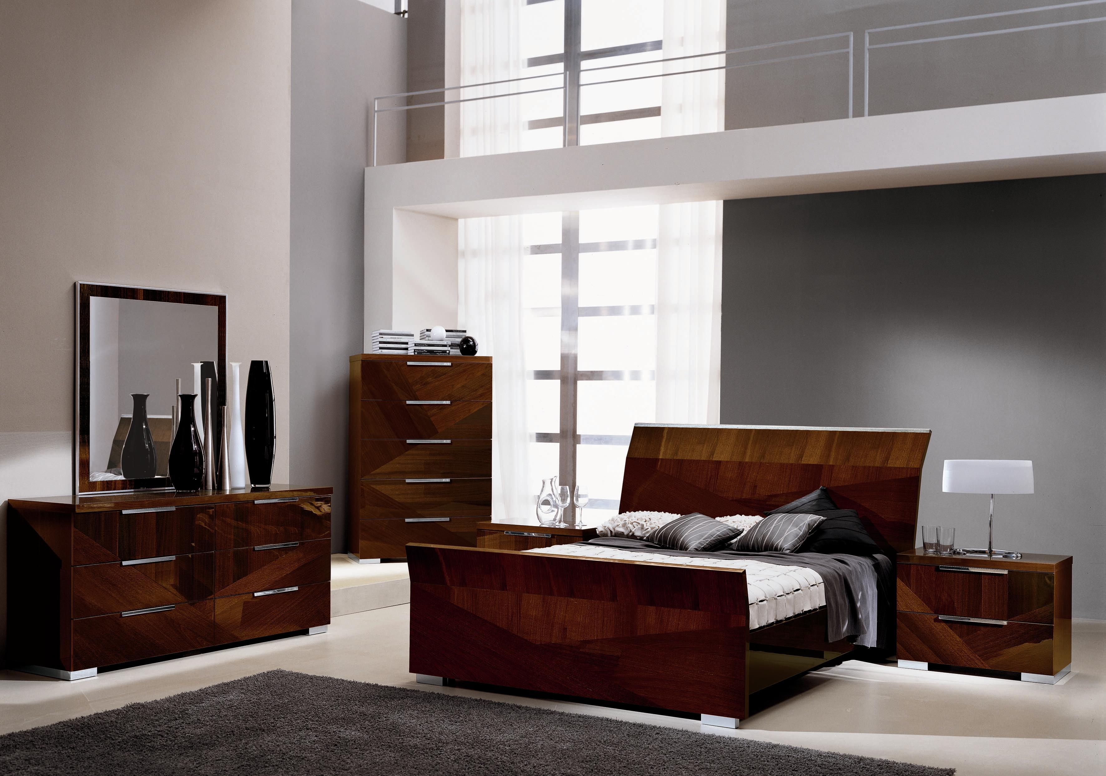 Alf Italia Capri Queen Bed - BigFurnitureWebsite - Sleigh Bed