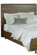 Wood Low Profile Bed Headboard