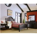 American Drew Camden - Dark Queen Bedroom Group - Item Number: 919 Q Bedroom Group 1