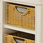 Detail of Wicker Pullout Drawer