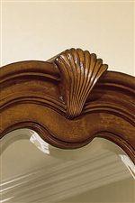 Select Pieces Have Decorative Carved Details
