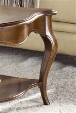 Graceful Cabriolle Legs Adorn Many of These Items