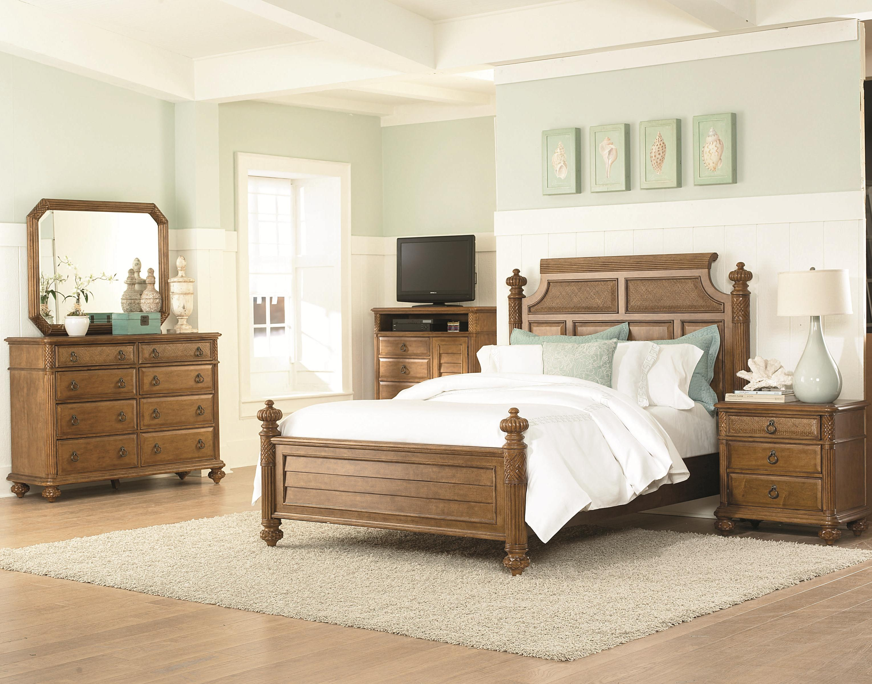 American Drew Grand Isle King Bedroom Group - Item Number: 079 K Bedroom Group 2