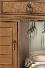 A Variety of Storage Spaces Offer Organization & Display Opportunities