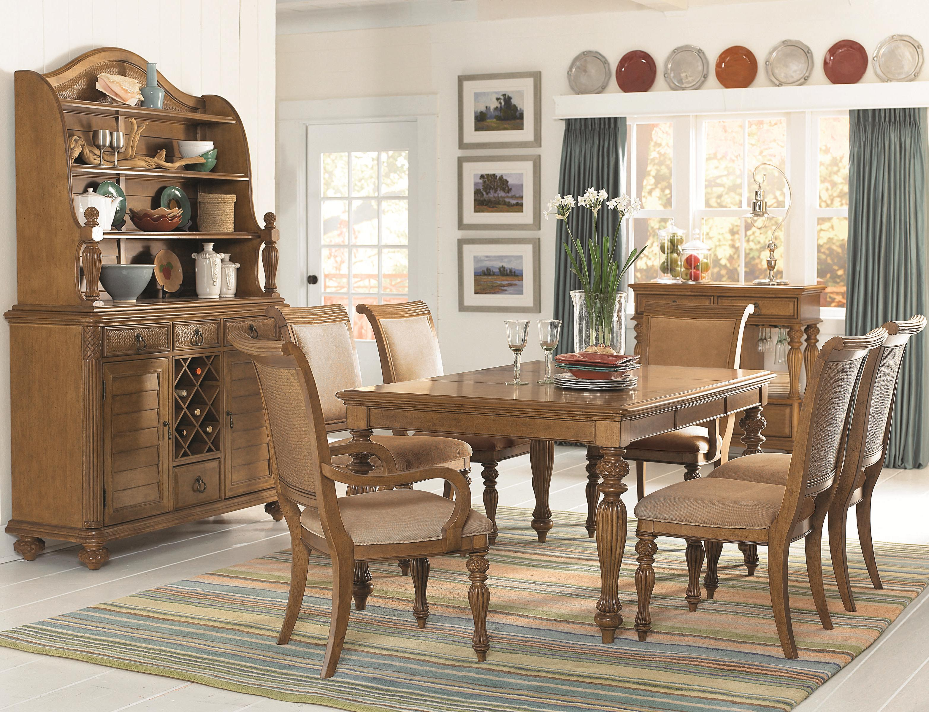 pedestal grand b island isle products item number room drew inspired american piece single dining set