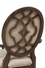 Decorative Chair Back with Motif Featured Throughout Collection