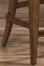 Tapered And Flared Legs add Two Elegant Design Styles