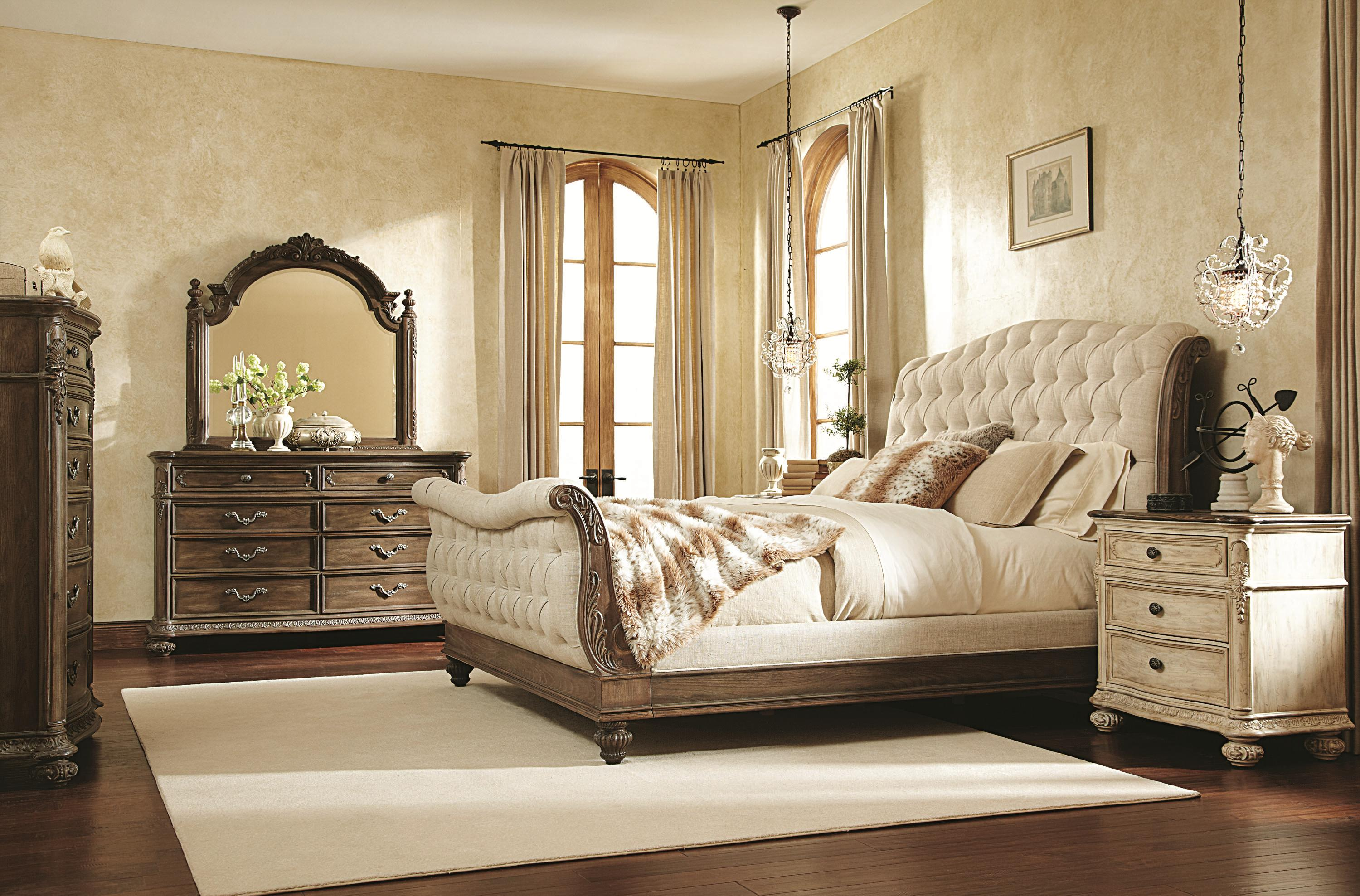 American Drew Jessica McClintock Home   The Boutique Collection Queen  Bedroom Group   Wayside Furniture   Bedroom Groups