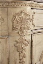 Acanthus Leaf Details Shown on Corner Edges of Select Items