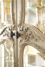 Traditional Elements like Arabesque Moldings and Foliage Design Bring Life to any Room