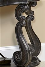 Intricate Molding and Curvature Feature Prominently Throughout the Collection