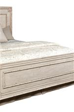 Panel Bed Footboard